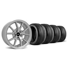 Mustang FR500 Wheel & Tire Kit - 18x9 Silver (94-04)