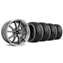 Mustang FR500 Wheel & Tire Kit - 18x9/10 Anthracite (94-04)
