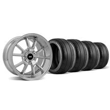 Mustang FR500 Wheel & Tire Kit - 18x9/10 Chrome (94-04)