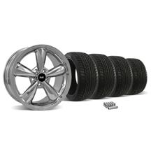 Mustang Bullitt Wheel & Tire Kit - 18X9 Chrome (05-14)