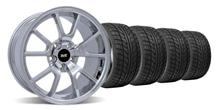Mustang FR500 Wheel & Tire Kit - 20x8.5/10 Chrome (05-14)