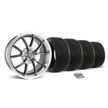 Mustang FR500 Wheel & Tire Kit - 20x8.5/10 Anthracite (05-14)