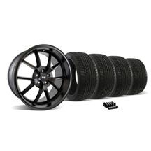 Mustang FR500 Wheel & Tire Kit - 20x8.5/10 Matte Black (05-14)