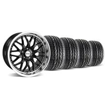 Mustang SVE Series 3 Wheel & Tire Kit - 19x9/10 Black (05-14)
