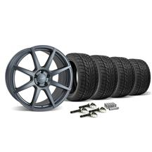 Mustang Velgen VMB8 Wheel & Tire Kit - 20x9/10.5 Matte Gun Metal (2015)