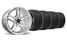 Mustang SVE GT500 Wheel & Tire Kit - 18x9/10 Chrome (05-14)