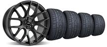 Mustang SVE Drift Wheel & Sumitomo Tire Kit - 19X9.5 Flat Black (05-14)