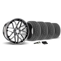 Mustang Downforce Wheel & Tire Kit - 20x8.5/10  Graphite (2015)