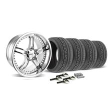 Mustang SVE Series 2 Wheel & Tire Kit - 19x9/10 Chrome (2015)