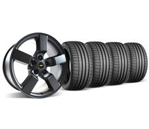 SVT Lightning Wheel & Tire Kit - 20x9 Satin Black (99-04)