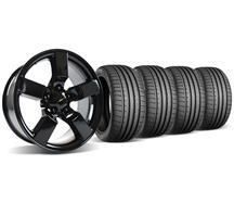 SVT Lightning Wheel & Tire Kit - 20x9 Gloss Black (99-04)