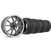 Mustang FR500 Wheel & Tire Kit - 17x9 Anthracite (94-04)