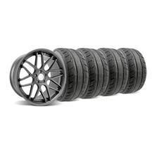 Mustang Downforce Wheel & Tire Kit - 20x8.5/10 Graphite (05-14)