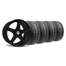 Mustang Saleen Wheel & Tire Kit - 18x9/10 Black (94-04)