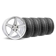 Mustang Saleen Wheel & Tire Kit - 18x9 Chrome (94-04)
